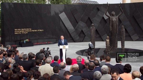 Казахстан: В Астане открыт памятник жертвам голодомора.