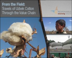 Responsible Sourcing Networks recommends: Exposure to Uzbek cotton may seriously damage your reputation