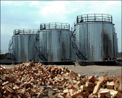 Кыргызстан, Кара-Балта: Нефтеперерабатывающий завод на подходе