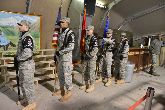 Американская база уходит из Кыргызстана