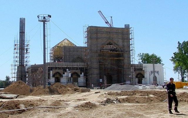 Строительство новой мечети