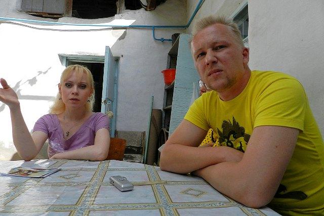 Лариса Игнатьева и Андрей Беглов