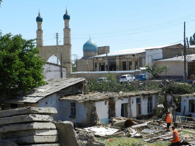 Снесенные дома в Ташкенте