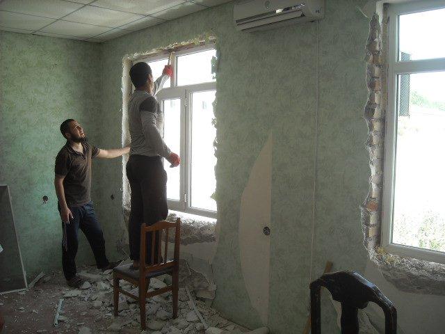 Снос офиса ПИВТ в Худжанде
