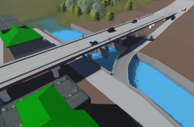 Мост в Оше
