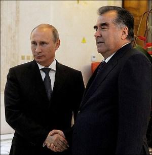 Путин и Рахмон