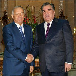 Каримов и Рахмон