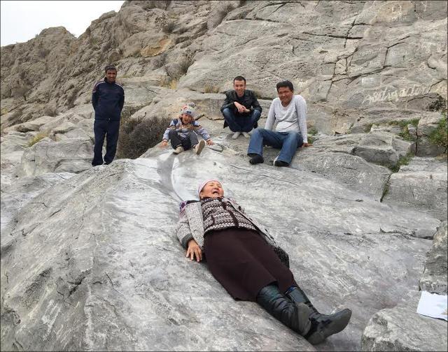 На горе Сулайман-Тоо