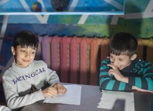 Когда город не чужой. Про детей беженцев и московских волонтеров