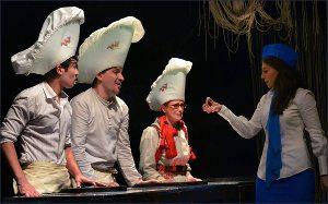 Ташкентский театр «Ильхом» запустил в небо «Золотого дракона»