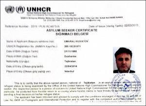 Куватов стал беженцем за несколько дней до убийства
