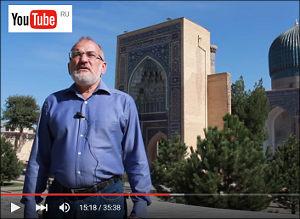 Узбекистан: В Ташкенте осыпалась облицовка купола крупнейшей «каримовской» мечети «Минор» (фото)