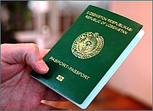 Биометрический паспорт в Узбекистане