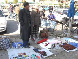 Барахолка в Ташкенте