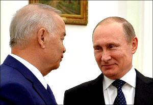 Путин и Каримов: «Откровенный разговор» о сельхозпродуктах, русском языке и перетекании нестабильности