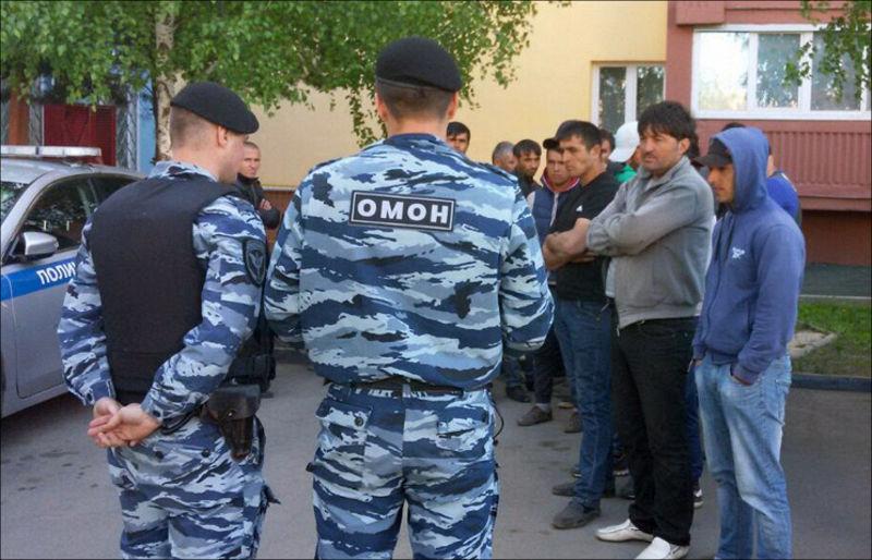 После потасовки наХованском кладбище из Российской Федерации были выдворены 7 жителей Таджикистана