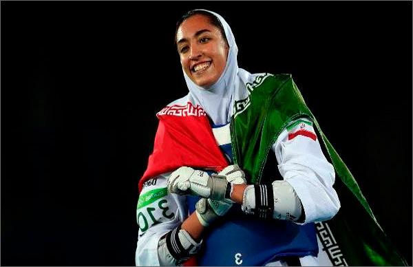 İslam Oyunlarında İranın bayraqdarı qadın idmançı olacaq