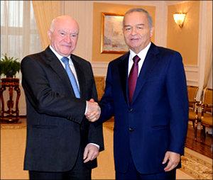 Лео Бокерия и Ислам Каримов