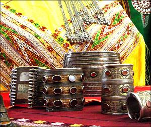 По следам туркменских серебряных украшений XIX-XX веков