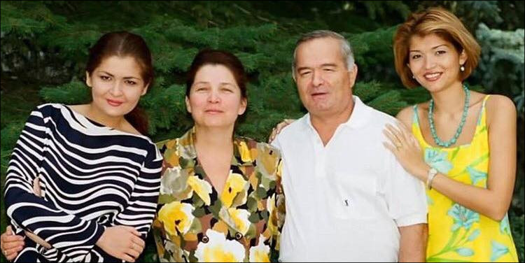 семья ислам каримов фото
