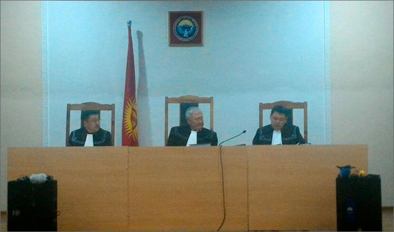 ВБишкеке начался суд поделу правозащитника Азимжана Аскарова