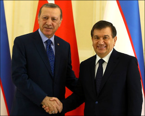 Узбекистан - Турция: Рукопожатия над могилой