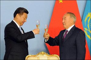 Казахстан: В сторону Поднебесной