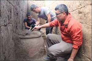 Uzbek, Chinese archaeologists jointly excavate ancient capital of Fergana