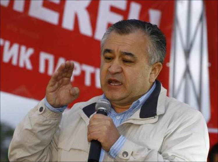 ВКиргизии лидера оппозиции арестовали надва месяца