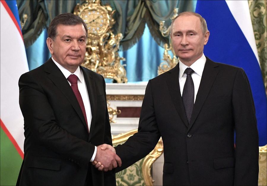 Президенты РФ иУзбекистана высказались заразвитие военного сотрудничества