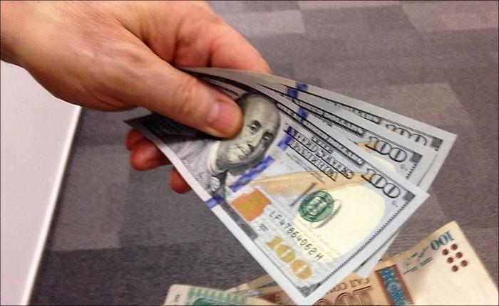 Засутки сомони кдоллару обесценился на20 пунктов