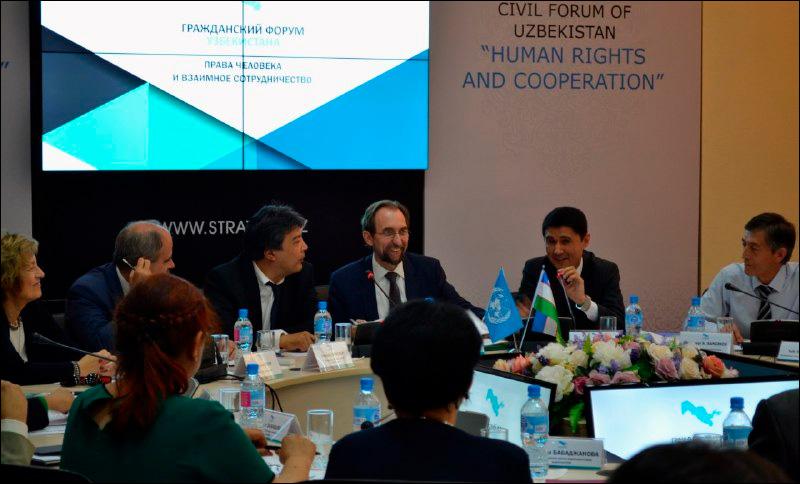 Верховный комиссар ООН поправам человека впервый раз приехал вУзбекистан