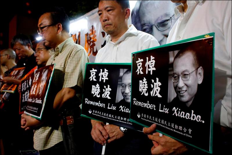 В КНР скончался владелец Нобелевской премии мира ЛюСяобо