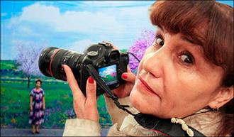 Впервые в Ташкенте: Смирное небо Умиды Ахмедовой