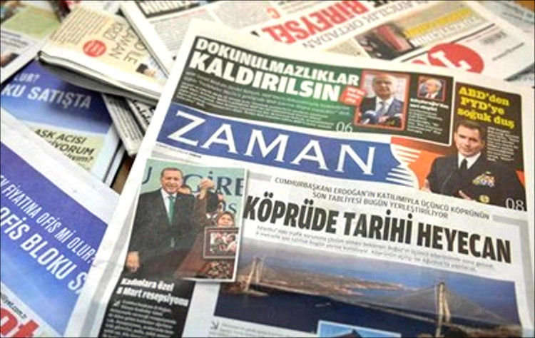 Картинки по запросу В Турции осудили 4 журналистов оппозиционной газеты Zaman