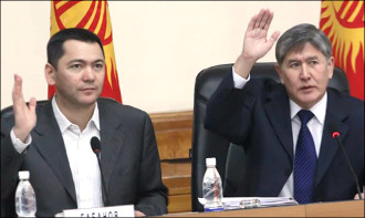 Pre-election Kyrgyzstan: Double game of President Atambayev?