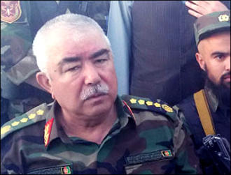 General Dostum returns. Who supports who?