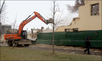 'Go wherever you want.' Tashkent City project evicts people