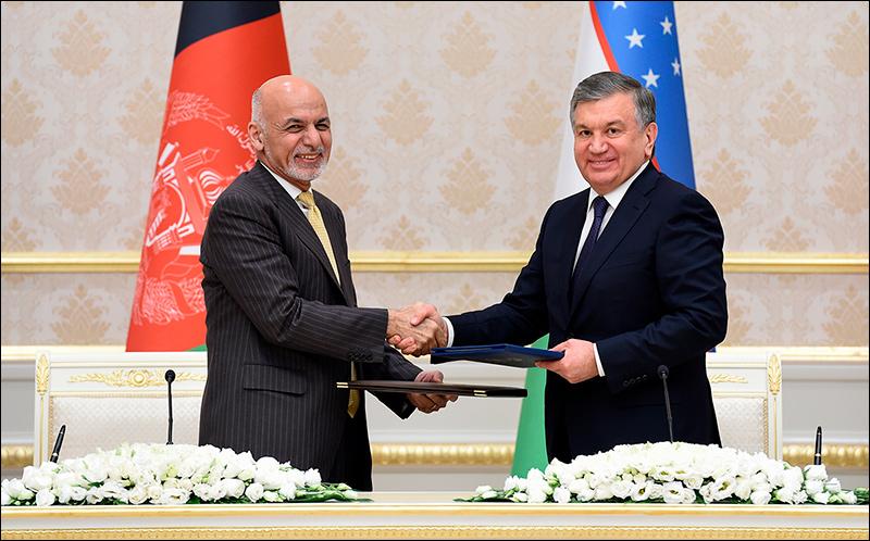 Афганистан иУзбекистан подписали договоры на $500 млн