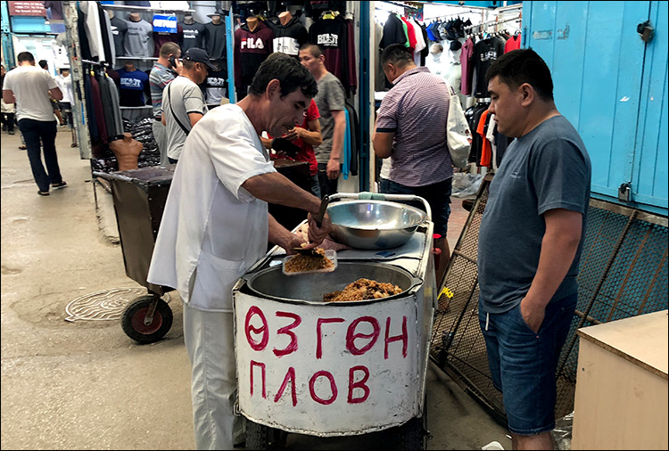 """Кыргызский """"Дордой"""" меняет ориентацию"""