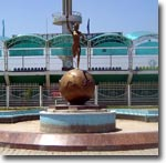 Неизвестно, когда этот фонтан работал в последний раз... Фото ИА Фергана.Ру