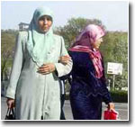 Ban to wear kerchiefs to schools in southern Kyrgyzstan embittered students\' parents and the local Moslem community