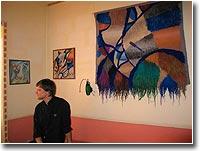 Выставка в арт-кафе открыта
