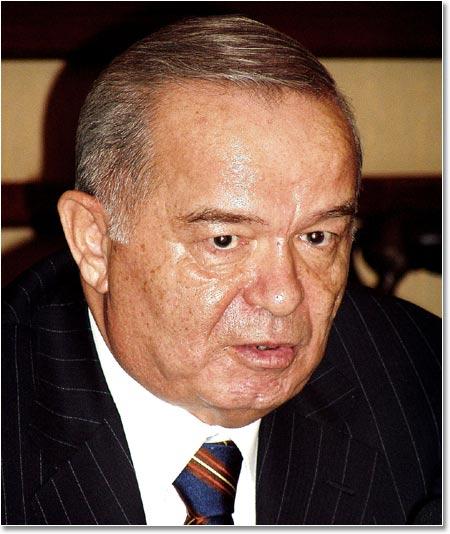 Ислам Каримов. 28 января 2005. Фото - Фергана.Ру