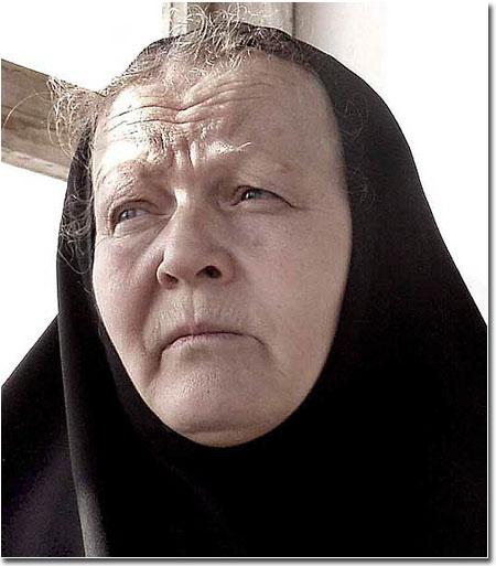 Игуменья Манефа, ныне настоятельница Свято-Покровского монастыря в Дустабаде