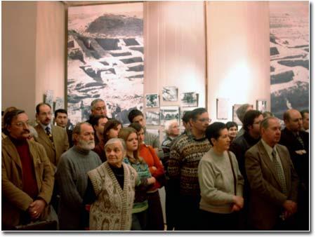 Гости на открытии выставки