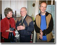 Рональд Кляйнер и его родители