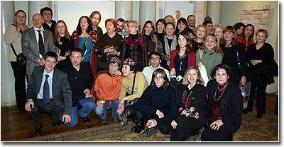 Гости и хозяева выставки