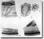 Странные знаки на черепках Жаркутана
