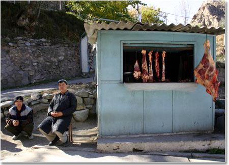 На улице города. Фото агентства Фергана.Ру